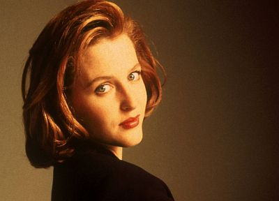 TV, Gillian Anderson, models, The X-Files - random desktop wallpaper