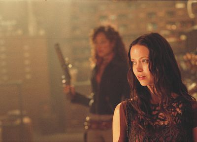women, Serenity, actress, Summer Glau, Firefly, Gina Torres, River Tam - related desktop wallpaper