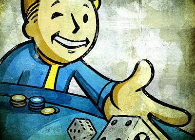 Fallout, Vault Boy - random desktop wallpaper