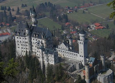 castles, Germany, Neuschwanstein Castle - related desktop wallpaper
