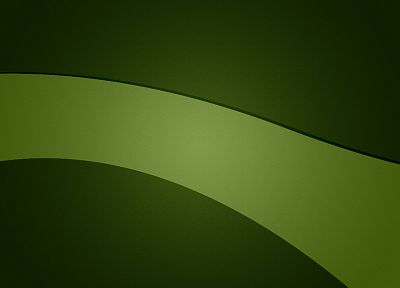 green, minimalistic - desktop wallpaper