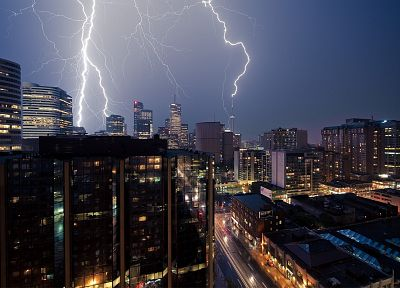 cityscapes, lightning - random desktop wallpaper