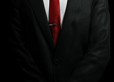 suit, tie, men, Hitman, Hitman Absolution, Agent 47 - random desktop wallpaper