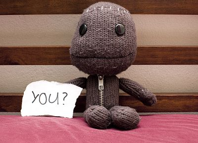 video games, Little Big Planet, Sackboy - random desktop wallpaper