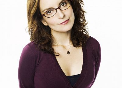 women, Tina Fey, girls with glasses, comedians - related desktop wallpaper