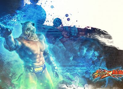 video games, Street Fighter X Tekken - desktop wallpaper