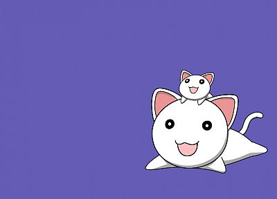 Azumanga Daioh, smiling, simple background - related desktop wallpaper