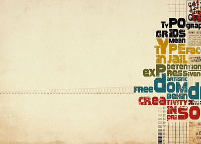 typography, grid - random desktop wallpaper