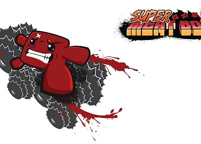 meat, Super Meat Boy, boys, games - random desktop wallpaper