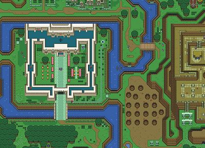The Legend of Zelda, maps, pixel art - desktop wallpaper