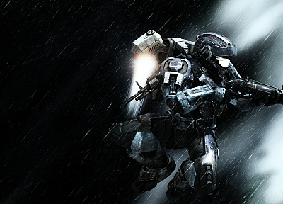 video games, guns, Halo, weapons, armor - related desktop wallpaper