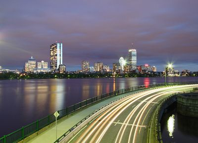 cityscapes, buildings, long exposure - random desktop wallpaper