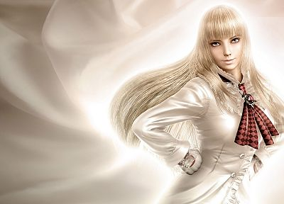 blondes, women, video games, Tekken 6 - related desktop wallpaper