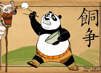 Kung Fu Panda - related desktop wallpaper