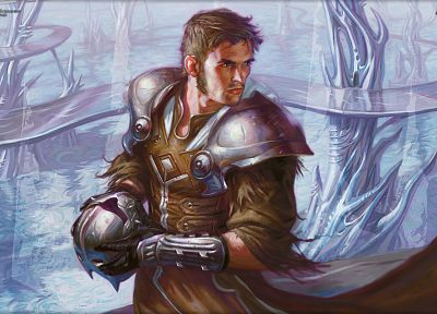 cards, fantasy, video games, Magic: The Gathering, Venser - random desktop wallpaper