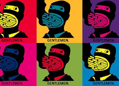 Spy TF2, Team Fortress 2, pop art - desktop wallpaper