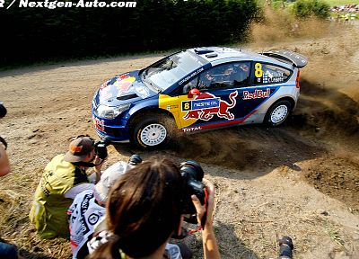 rally, drifting cars, racing, Red Bull, Citroen C4 WRC, rally cars, racing cars - random desktop wallpaper