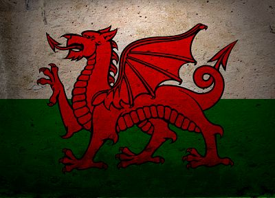 flags, Wales - random desktop wallpaper