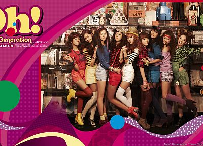 Girls Generation SNSD, celebrity - random desktop wallpaper
