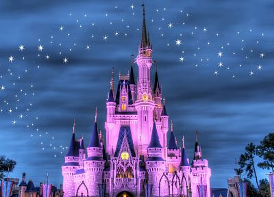 Disney Company, castles, magical - random desktop wallpaper