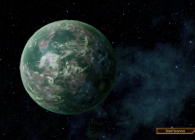 planets, Mass Effect 2 - random desktop wallpaper