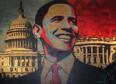 hope, presidents, Washington DC, Barack Obama, Shepard Fairey - random desktop wallpaper