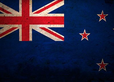 flags, New Zealand - random desktop wallpaper