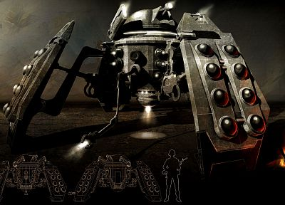 Dalek, Doctor Who - random desktop wallpaper