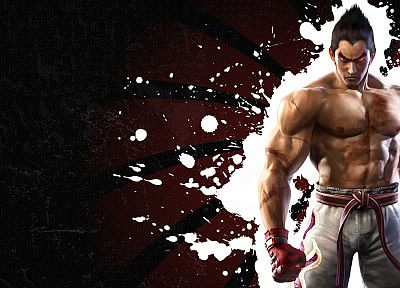 video games, Tekken, Kazuya Mishima - desktop wallpaper