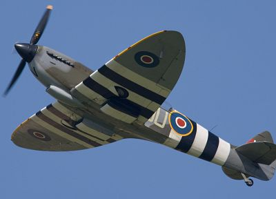 aircraft, military, World War II, Supermarine Spitfire - random desktop wallpaper