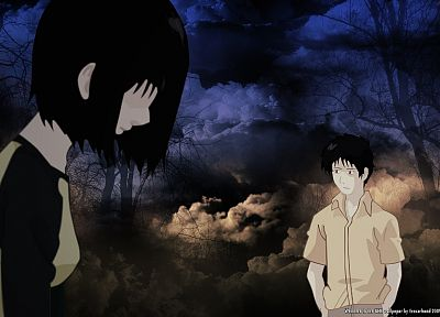 Welcome to the N.H.K., anime, Nakahara Misaki, Satou Tatsuhiro - related desktop wallpaper