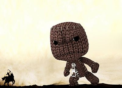 Little Big Planet, Sackboy, Shadow of the Colossus - random desktop wallpaper
