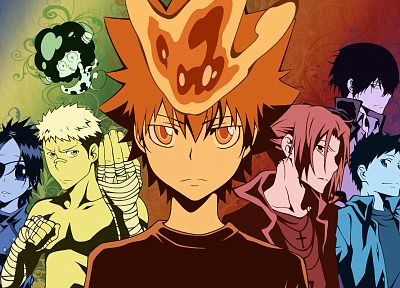 Katekyo Hitman Reborn, guardians, Vongola - random desktop wallpaper