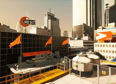 video games, edge, mirrors, Mirrors Edge - desktop wallpaper