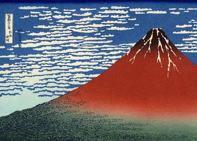 Mount Fuji, artwork, Katsushika Hokusai, Thirty-six Views of Mount Fuji - related desktop wallpaper