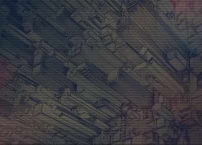 abstract, Inception, design, digital art - random desktop wallpaper