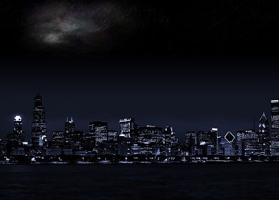 cityscapes, night, architecture, buildings - related desktop wallpaper