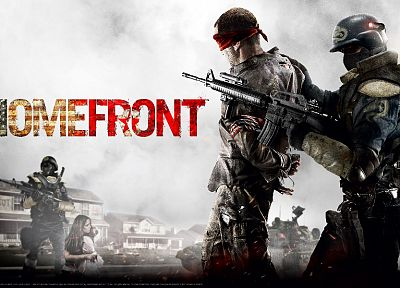 video games, Homefront - random desktop wallpaper