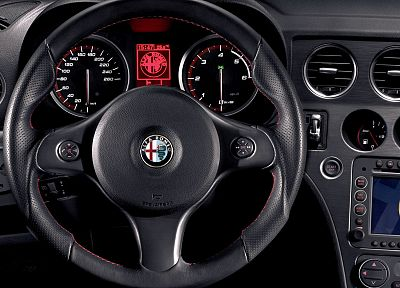 cars, car interiors, steering wheel - random desktop wallpaper