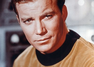 Star Trek, captain, William Shatner, James T. Kirk - desktop wallpaper
