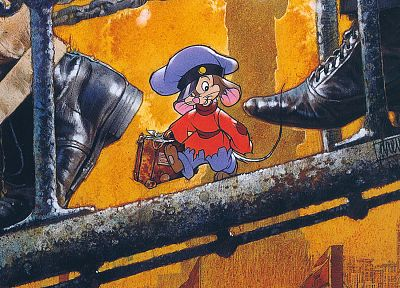 An American Tail, Fievel Goes West - random desktop wallpaper