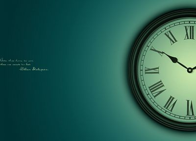 clocks - random desktop wallpaper