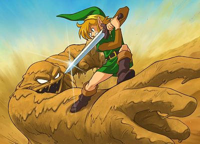 Link, fight, The Legend of Zelda - random desktop wallpaper