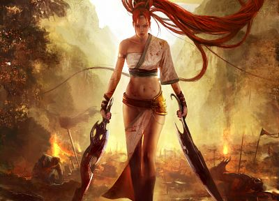 Heavenly Sword, Nariko - random desktop wallpaper