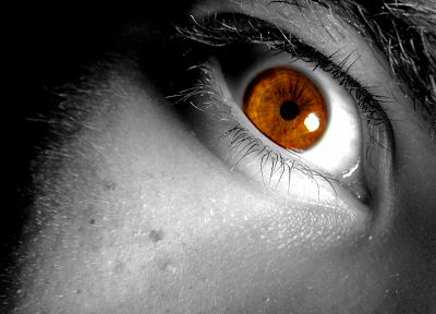 eyes, selective coloring - related desktop wallpaper