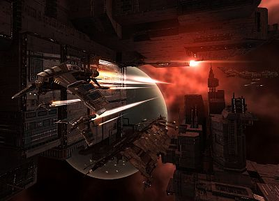 EVE Online, digital art, 3D, minmatar, Eve - random desktop wallpaper