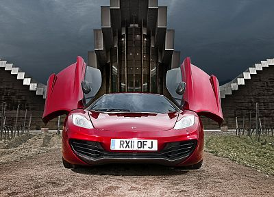 cars, McLaren MP4-12C - desktop wallpaper