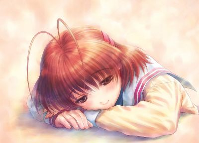 Clannad, Furukawa Nagisa, anime girls - random desktop wallpaper