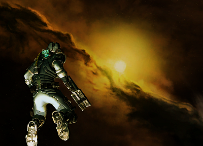 video games, suit, Dead Space, armor - desktop wallpaper