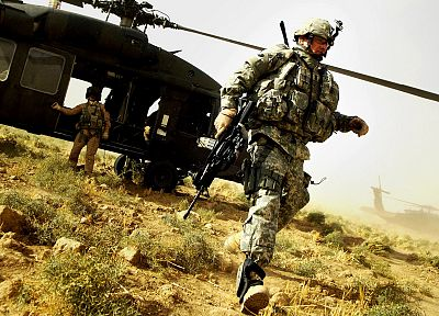 soldiers, army, military, helicopters, vehicles - related desktop wallpaper